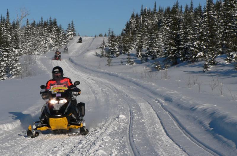 Munilité de Pontiac :: Snowmobile trails on