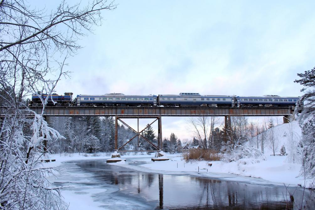 Train touristique Orford Express - Hiver: