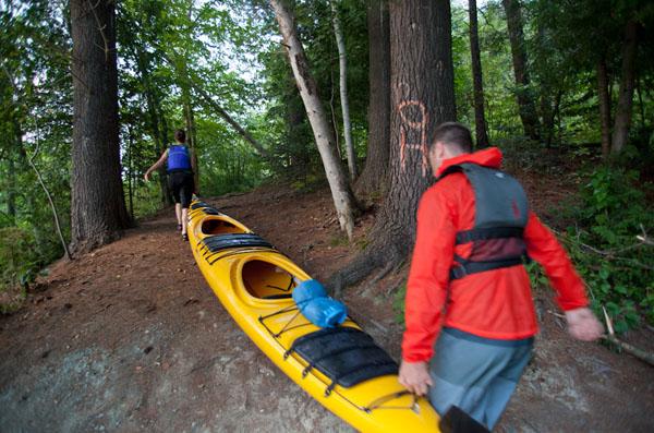 Carte Bleue Kayak.Corridor Bleu Sherbrooke Cantons De L Est Estrie