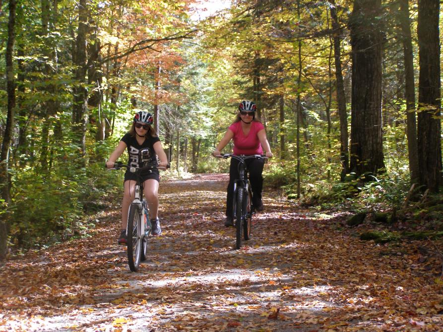 Vélo - Parc national de Frontenac: ©Donald Bisson