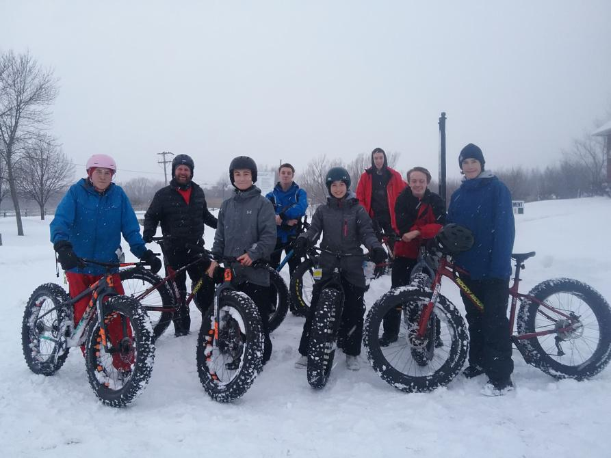 Groupe fat bike: