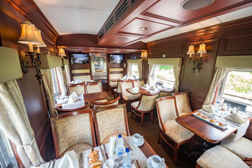 Train touristique Orford Express - Voiture lounge:
