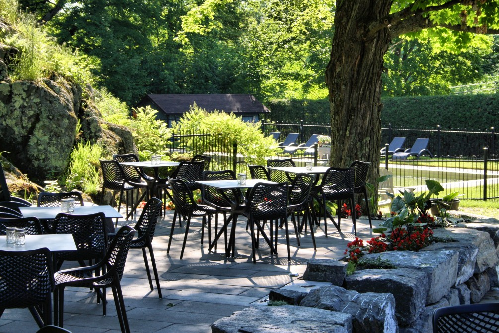 Domaine Jolivent - Terrasse: