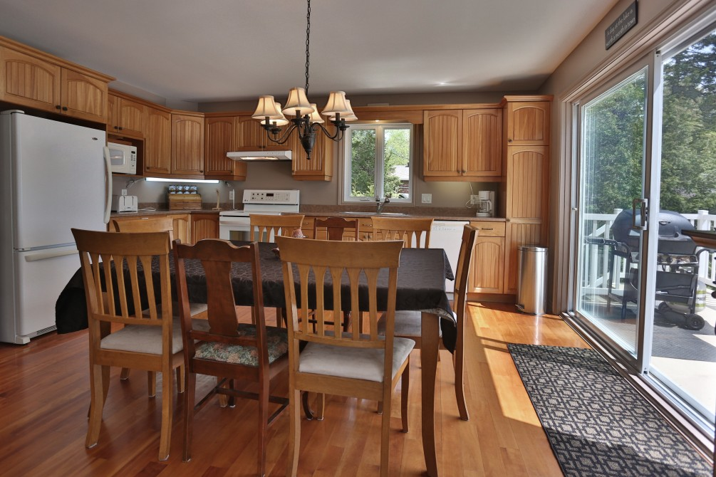 Chalet Beaudin Lac Wallace: Cuisine