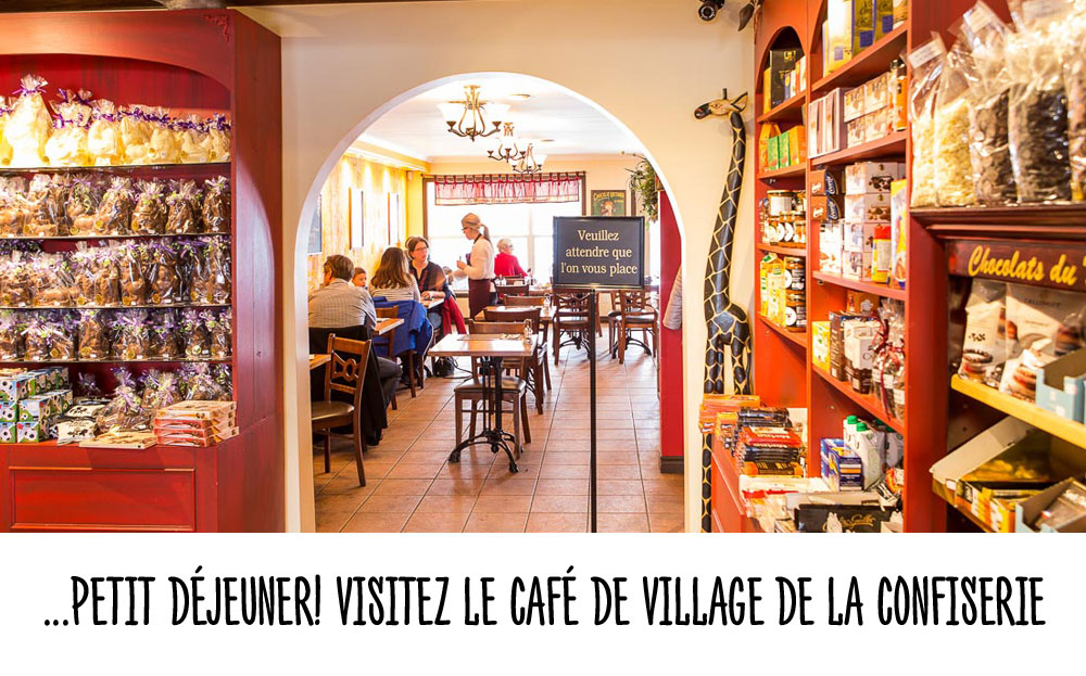 Confiserie Bromont- Cafe